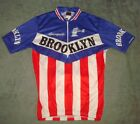 BROOKLYN GIORDANA CYCLING JERSEY SIZE M RACING ITALY CAMPAGNOLO SHORT SLEEVE