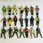 Vintage Action Figures Mixed Lot Of 21 Military Space Astronaut
