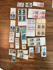 Vintage Usa Stamp Lot Assorted Collection