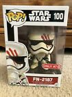 NEW Funko Pop 100 Star Wars The Force Awakens FN-2187 Target Exclusive
