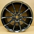 20 Ford Shelby GT500 Alcoa 50th Anniversary Black Chrome Mustang Wheels Rims