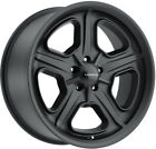 20 Inch 5 Lug 5x115 RWD Magnum Charger Black Rims 20x85 +10mm Set of 4 Wheels