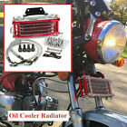 Engine Oil Cooler Radiator For 50 70 90 110CC Dirt Pit Bike Racing Motorcycle
