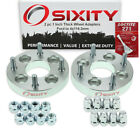 2pc 4x100mm to 4x1143mm Wheel Spacers Adapters 1 for Ford Aspire Escort yr
