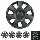15 Hubcaps For Car Accessories Wheel Covers Replacement Tire Rim Replica 4-pack