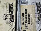 Large Lot of (24) Vintage Model Truck Instruction Sheets 1/25 Semi G1