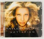 Taylor Dayne Satisfied CD Rare Beautiful Dedicated Kissing You Crash Love Chain