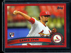 LANCE LYNN 2011 Topps Update Target Red Parallel Rookie Card RC #US114 RANGERS