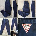 Vintage Guess Jeans Made In USA Ankle Zippers High Waist Sz 8 80s 21 1 2 Waist