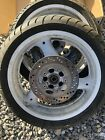 91 Suzuki GSXR 750 GSX R GSXR 750 rear back wheel rim straight Front With Tyre