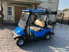 Club Car Villager 4 Seater Electric Golf Buggy With All Weather Side Screens