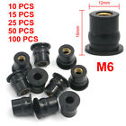 M6 6MM Rubber Well Nut Universal Motorcycle Windscreen & Fairing 1/2