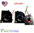 Original NEW CPU+GPU Fan for MSI GS65 GS65VR MS 16Q2 4 Pin US Seller