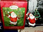 Jingle Bell Kringle`2000`Nothing Like A Party At Santa's`Hallmark Tree Ornament