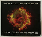 PAUL SPEER - Ax Inferno CD AUTOGRAPHED (Accelerator / Vortex / Helion Prime)