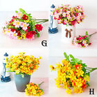 Artificial Fake Chrysanthemum Daisy Silk Flower Holiday Home Bedroom Table Decor