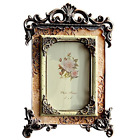 Vintage Picture Frame Friends Gift Photo Display European Royal Family Style 4x6