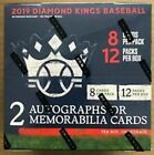 2019 PANINI DIAMOND KINGS BASEBALL SEALED HOBBY BOX FREE SHIP