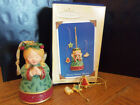 2004 Hallmark Ornament 4 Pc Sweet Tooth Treats Angel with Cookies QX8191