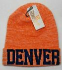 Denver Broncos Team Color Blended High Quality City Beanie Knit Cap hat!