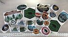 Huge Sticker BUNDLE Printed Sticker Decals Camping Hiking National Parks Bear
