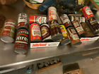 16 Vintage Root Beer Soda Pop Can Lot Jolly Good Hiers Weight Watchers Mason