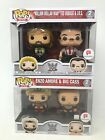 Funko POP! WWE 2 Packs IRS and Ted Dibiase, Enzo Amore And Big Cass - New In Box