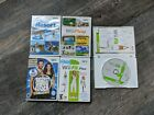 Lot Of 5 Wii Games Fit Plus Sports Resort Play Biggest Loser