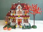 Lemax - Harvest Crossing - Welcome Home - Fall Autumn - Village House