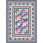 Blank Quilting Gypsy Dreams Inspirational Patches Throw Quilt Kit