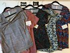 Lot of 5 XL LuLaRoe Classic Tee Shirts Extra Large Brand New with Tags BNWT