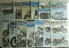 lot of Tamiya model instruction manuals, Porsche, Harley, Honda, BMW, Kawasaki