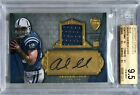 2012 TOPPS SUPREME ANDREW LUCK AUTO PLAYER-WORN JERSEY 07 25 BGS 9.5 10 ROOKIE