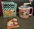 HELP RESCUE DOGSVintage Snoopy Donvier Land PINK Ice Cream Maker Orig Box1965