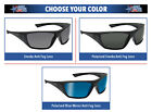 Bolle Hustler Safety Glasses Sunglasses ANSI Z87+ Work Eyewear Choose Color