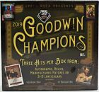 2019 UD GOODWIN CHAMPIONS HOBBY CASE - SEALED 16 BOX CASE