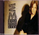 Eddie Money Right Here CD Classic 80s Rock Run Right Back Fire Water Greatest
