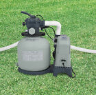 Intex 1600 GPH Saltwater System  Sand Filter Pump Swimming Pool Set For Parts