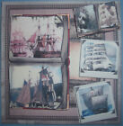HANDMADE 3 D ALL OCCASION GREETING CARD BEAUTIFUL SHIPS THIS IS A MANS CARD