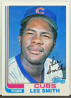 NEW HOF'ER!! LEE SMITH ROOKIE 1982 TOPPS #452 CUBS RELIEVER, SAVES, SET BREAK!!