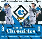 2019 Panini Chronicles Baseball FOTL First 1st Off The Line Sealed Hobby Box