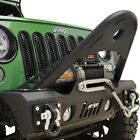 Offroad Stinger Front Bumper with Winch Plate Fit for 07 18 Jeep Wrangler JK
