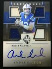 2019 MAJESTIC ANDREW LUCK ON CARD AUTO CAPSTONES #'d 30 MINT! COLTS