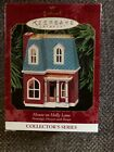 1999 Hallmark Ornament  House on Holly Lane  #16  Nostalgic Houses and Shops