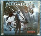 MEGADETH – Dystopia – FULLY SIGNED by the ORIGINAL LINEUP!