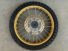 05 06 07 Honda CR85R PRO WHEEL Gold Front Wheel 17