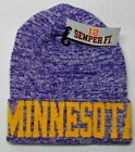 Minnesota Vikings Team Color Blended High Quality City Name Beanie Knit Cap hat!