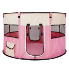 HOBBYZOO 45 Pet Dog Kennel Fence Puppy Playpen Exercise Pen Folding Crate Pink