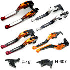 For Honda CBR600F 2011-2013 2012 Extendable Folding Brake Lever Clutch Levers