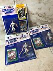 WILL CLARK Starting Lineup Card/Statue/Display Box 1989/90 Lot Of 3